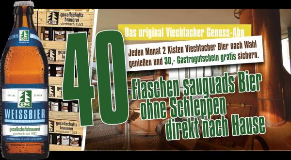 Viechtacher Genuss-Abo Weissbier Original