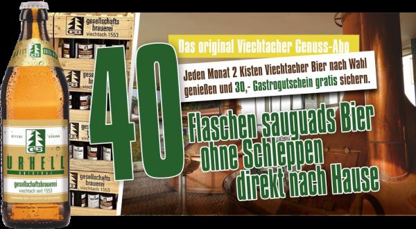 Viechtacher Genuss-Abo Urhell