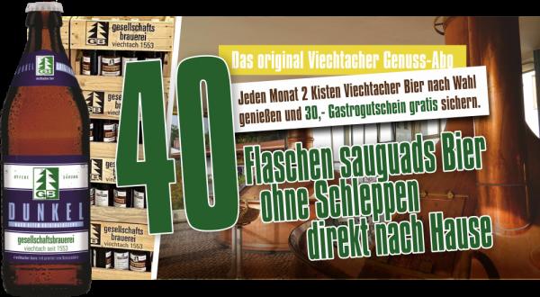 Viechtacher Genuss-Abo Dunkel